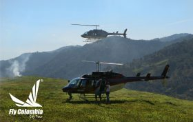 Tour en Helicóptero al Diamante Salgar Fly Colombia